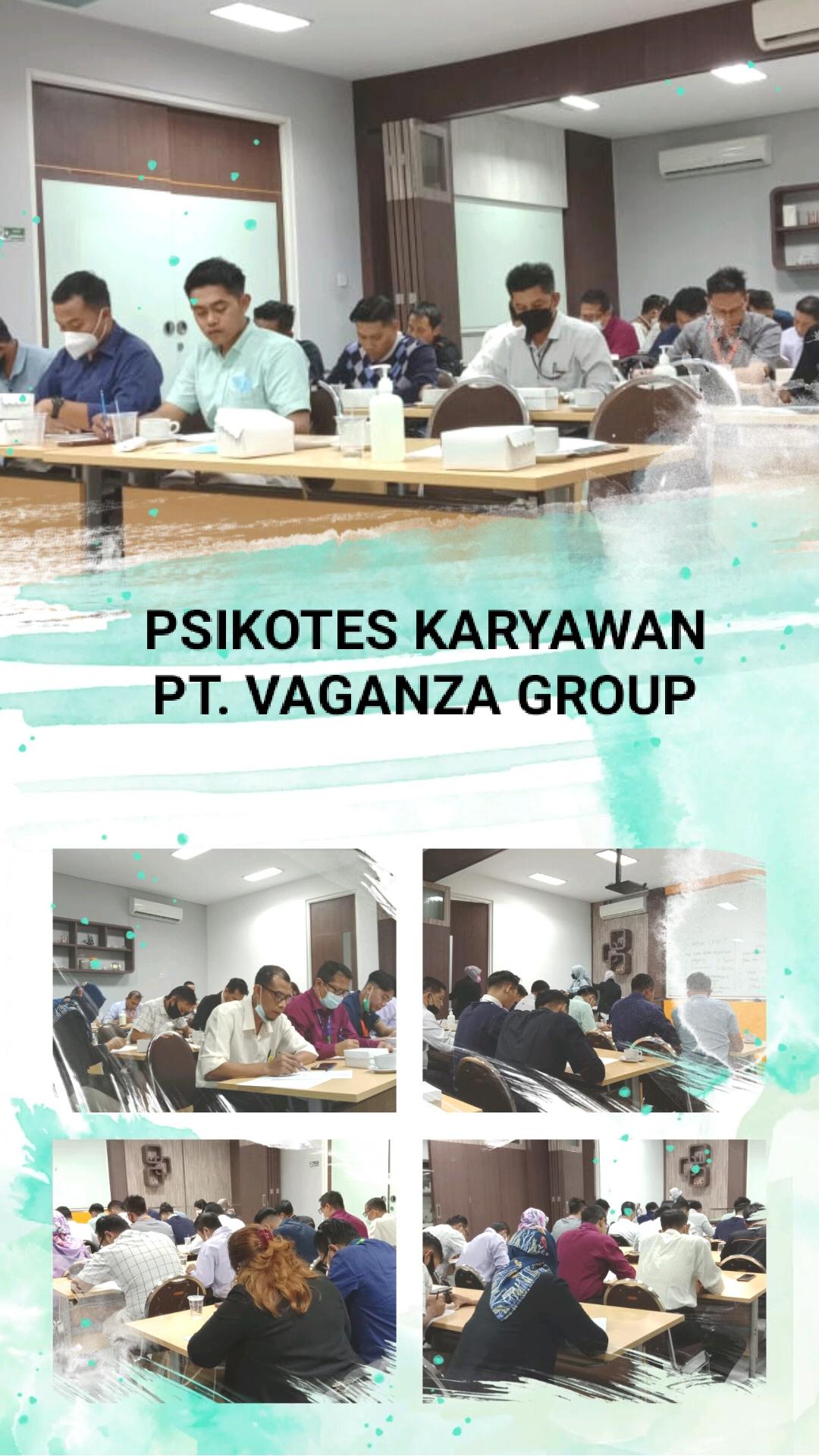 <p>Selasa, 8 Juni 2021</p><p>Griya psikologi UWP bekerjasama dengan PT. vaganza Group dalam pelaksanaan psikotes untuk potensi Review</p>